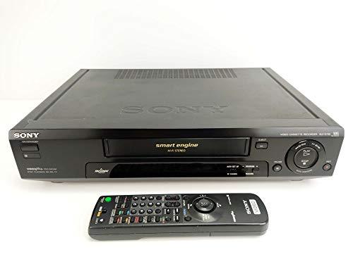 Sony VCR VHS SLV-E730 Video Cassette Recorder Black