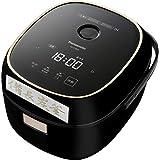 パナソニック 炊飯器 3.5合 ひとり暮らし IH式 ブラック SR-KT069-K