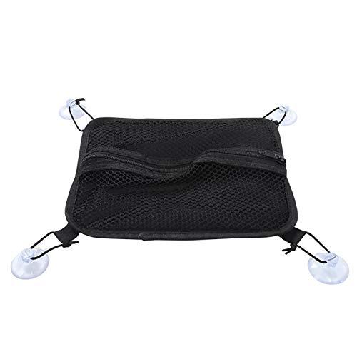 Bolsa de tabla de surf portátil e impermeable, 15.7 x 9.8 en 600D Nylon / Pvc Forro impermeable La bolsa de aleta de tabla de surf liviana se puede ajustar con timón de 6 a 12 pulgadas(negro)