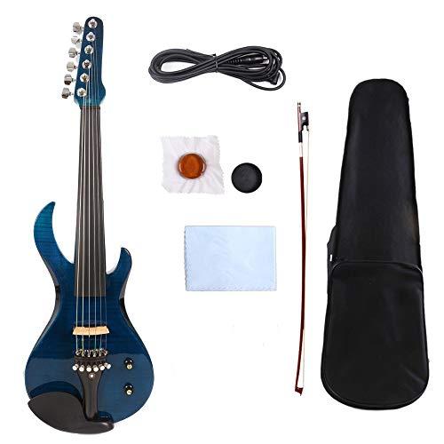 XTQDM Geige 6 cuerdas violín eléctrico 4/4 guitarra que te preocupes hermoso Geigenbundkabel