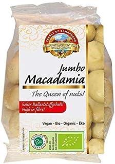 Nueces de Macadamia grandes Bio 480g biológicos crudos,