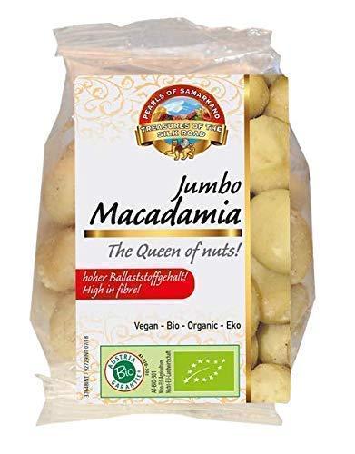 Nueces de Macadamia grandes Bio 480g biológicos crudos, ecológicos, non tostadas, naturales, sincáscara, orgánicas 6x80g gr