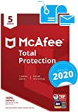 McAfee Total Protection 2018, 5 PC 5 licencia(s) - Seguridad y antivirus (5 PC, 5 licencia(s))
