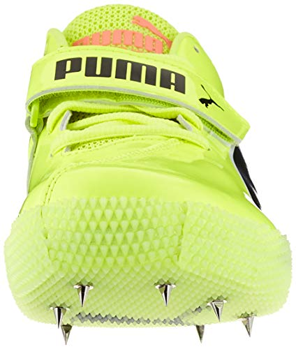 PUMA Evospeed High Jump 6, Scarpe da Atletica Leggera Unisex-Adulto, Giallo (Fizzy Yellow Black), 42 EU