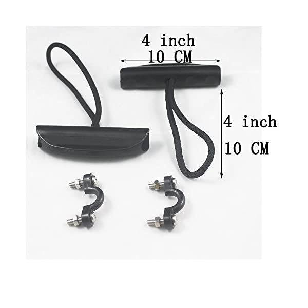 Lot 2 Kayak Carry Handle Pull Handle T-handle with Cord and Pad Eyes by YYST