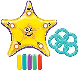 Inflatable Starfish Ring Toss Game Set   Party Favor   6 Sets