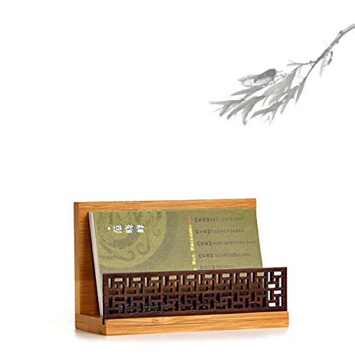GZXB ガーデンスタイルウッドオフィス名刺ケース・整理箱 デスクオーガナイザーとアクセサリー用