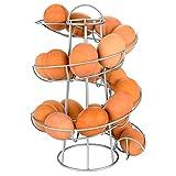 Portauova in ferro, design a spirale, porta uova a...