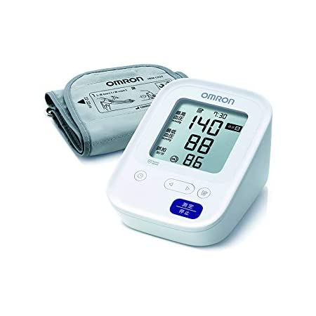 オムロン 上腕式血圧計 ホワイト HCR-7104