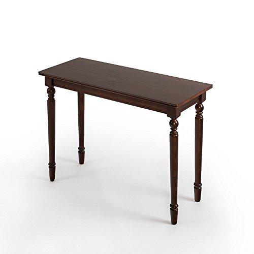 Zinus Zaalonge Bordeaux Wood Console Table / Entryway / Table