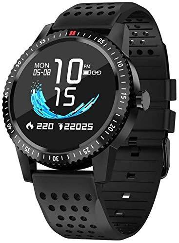 ZHENAO Fitness Tracker Smart Watch, Ip67 Actividad a Prueba de Agua Rastreador de Fitness con Memoria Fisiológica Fisiológica Función de Recordatorio, Alarma Anormal de la Frecuenci