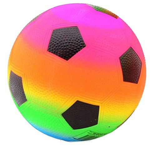 bunter Regenbogen-Fußball Größe 5