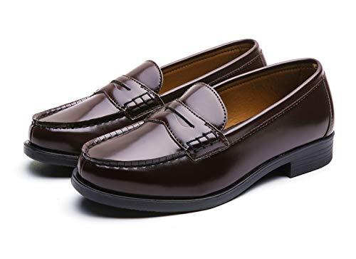ジオアンドジア『学生靴レディースローファー』