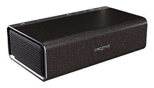 Creative Sound Blaster ROAR Pro - tragbarer Bluetooth-Lautsprecher (NFC-Funktion, AAC, aptX, 5 Treiber, integrierter Subwoofer) schwarz
