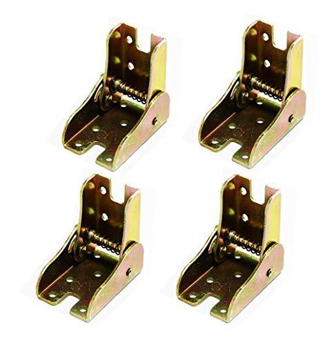 Marco de soporte plegable - bisagras autoblocantes - accesorios para patas y pasador - para patas plegables Extensión para mesa plegable de cocina | Cuarto de lavado Barco | Leer | Tabla | Mueble
