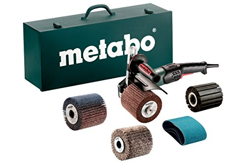 "Metabo - 4"" Variable Speed Burnisher Kit- 800-3, 000 Rpm -14.5 Amp W/Lock-On, Accessory Set (602259620 17-200 Rt), Inox - Stainless Steel Finishing"