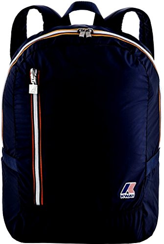 Zaino K-WAY Unisex Blu Richiudibile - 4bkk1317ka3