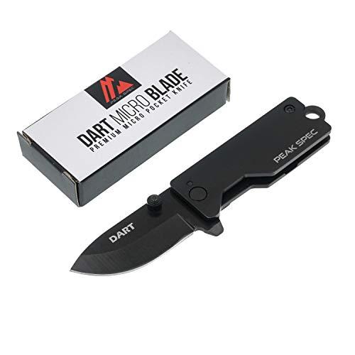 Dart - Premium Mini Pocket Knife (Jet Black)