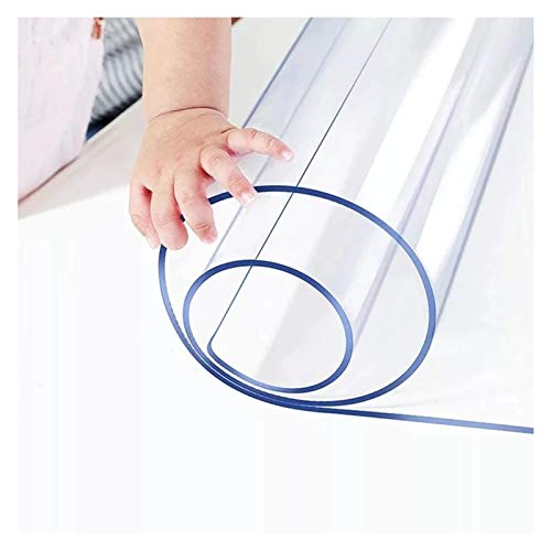 ALGWXQ Alfombrilla para Silla Estera de Protección Suelo Protección La Silla del Escritorio de Oficina, 16 Tamaños, Personalizable (Color : Clear-2.0mm, Size : 85x140cm)