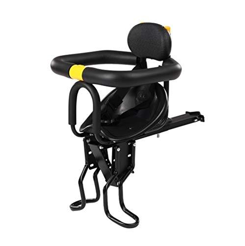 Sillín de bicicleta niño, asiento de seguridad for niños del asiento de la bicicleta de los niños silla de montar con Pedales delante Baby Soporte Respaldo Silla delantero for 0-7 bebé de los años YSJ