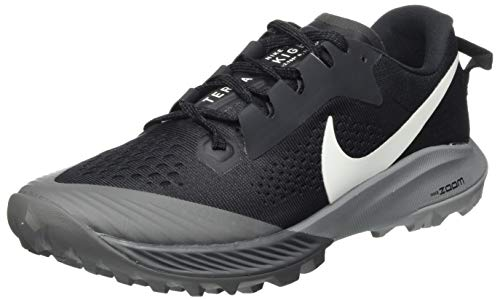 Nike W Air Zoom Terra Kiger 6, Zapatos para Correr para Mujer, Off Noir/Spruce Aura/Black/Iron Grey, 38 EU