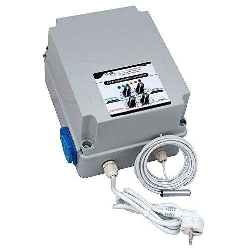 Contrôleur de Température / Humidité par transformateur GSE 1EXT 2.5A (FC04-202)