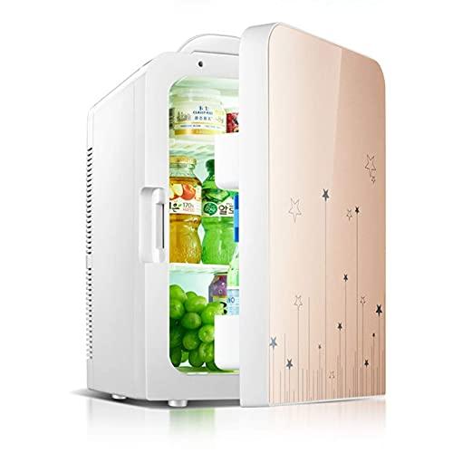Mini frigoríficos pequeños para el hogar, refrigerador para Acampar, Mini refrigerador silencioso, Capacidad de 20 l, refrigerador pequeño para Espacio para cosméticos, enfriamiento mínimo, 5 Grados,