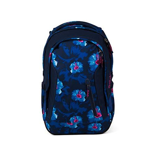 Satch sleek Schulrucksack - ergonomisch, 24 Liter, extra schlank - Waikiki Blue - Blau