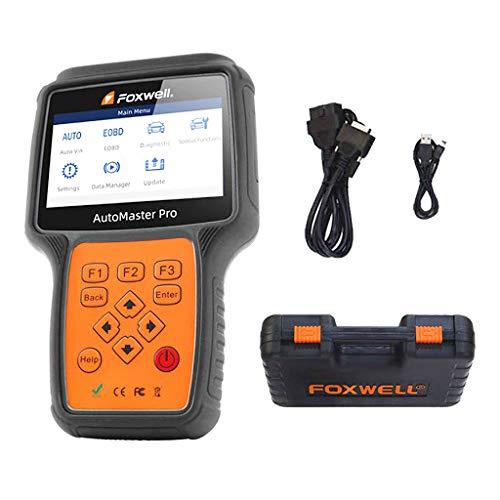 OBD2 FoxWell NT680 - Valise Diagnostic Auto Pro Multi-Marques - Lecture/Effacements défauts - Reset Entretiens - Gestion Frein Électrique