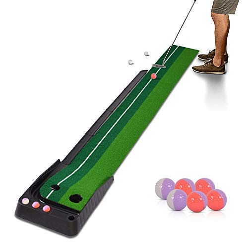 Hivexagon Indoor Outdoor Golf Set Ball Auto Return Hazard...