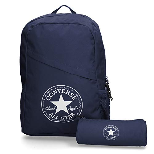 Converse Schoolpack XL Backpack Unisex Set Blue 45GXN90, Farben:Blau