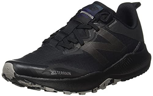 New Balance MTNTRV4, Zapatillas para Carreras de montaa Hombre, Black, 43 EU