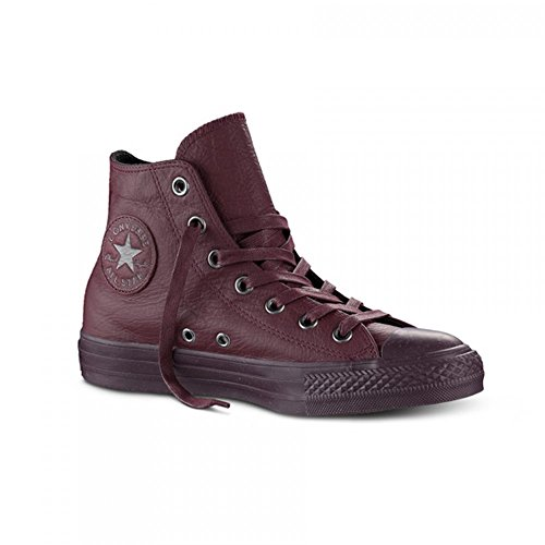 Converse Sneaker Alta all Star Hi Leather Bordeaux EU 43