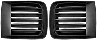 BB Auto New OE Direct Replacement Lower Front Bumper Fog light lamp Finishing Grilles RH LH Set Replacement for 1999-2004 Nissan Pathfinder