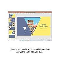 Microsoft 365 Family, Fino a 6 Persone, Abbonamento Annuale, PC/Mac, Smartphone, Tablet, Box #4