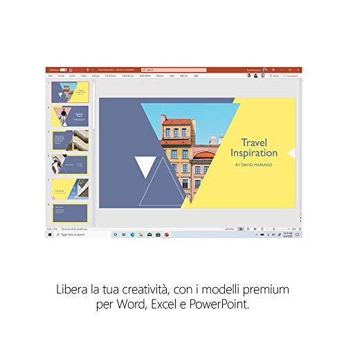 Microsoft 365 Family, Fino a 6 Persone, Abbonamento Annuale, PC/Mac, Smartphone, Tablet, Box