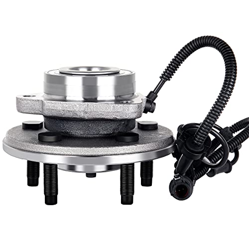 ECCPP (515050 x1) New Front Wheel Hub and Bearing Assemblies fit for Ford...