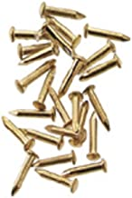Dollhouse Miniature Brass Pointed Pin Nails 4mm by Houseworks