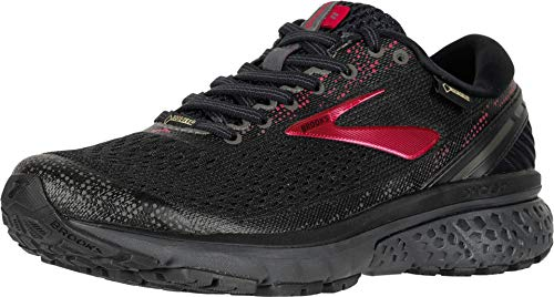 Brooks Women's Ghost 11 GTX Running Shoes, Multicolour (Black/Pink/Ebony 071), 4 UK