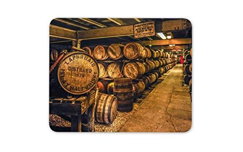 WOTAKA Gaming-Mauspad,Scottish Distillery Whisky Mature Age Malt,Rutschfest Verschleißfestes Und Haltbares Gummi,Mousepad Für Bürocomputer,9.5