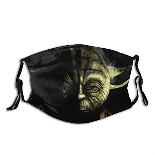 ADICOM Mundschutz Star-Wars Master Yoda Mouth Cover Face Cover Headscarf Outdoor Seamless Reusable Mouth Scarf