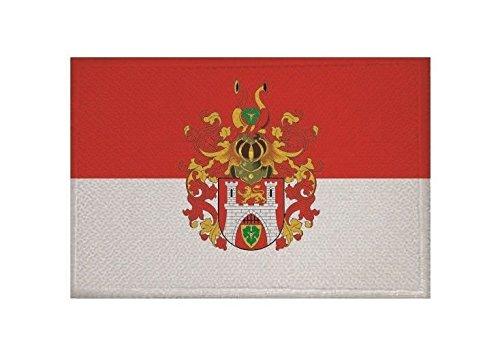 U24 Aufnäher Hannover großes Wappen Fahne Flagge Aufbügler Patch 9 x 6 cm
