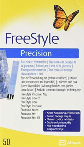 Freestyle Precision Blutzucker Teststr.o.codier. 50 stk