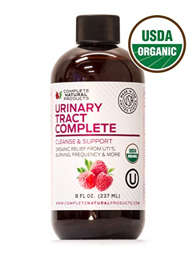 Urinary Tract Complete 8oz - Organic Liquid Bladder, UTI, UTI Prevention, Yeast, Candida Infection Treatment