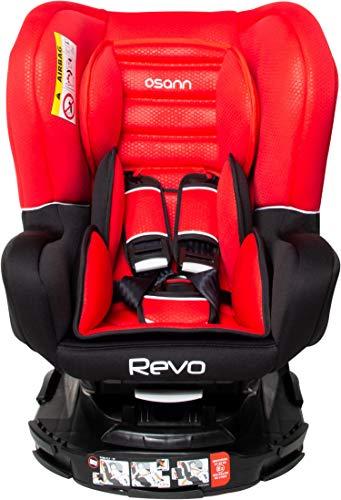Osann Revo SP Reboarder Gruppe 0+/1/2 (0-25 kg) 360 Grad drehbar Luxe Rouge