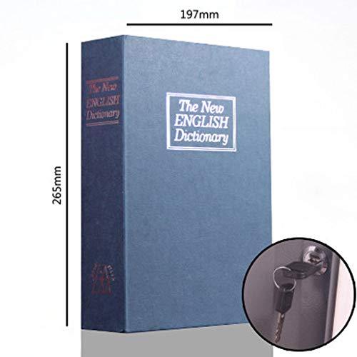 Buchsicherheit gxfxq buchsafe buchsafe mit tastensperre verstecktes regal sicherheitsbuch geheimfach kann wichtige dinge tragen versteckte leistung ist besonders hoch