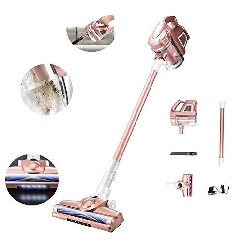 LKK-KK Inalámbrico de mano Aspirador, hogar de gran alcance de alta potencia pequeña de carga ultra silencioso aspiradora portátil for alfombras/suelos/coche de limpieza de interiores