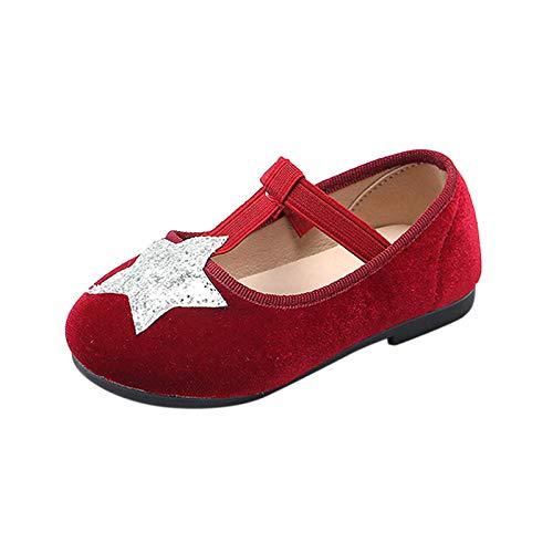 Berimaterry Mocasines 0-7 de para niña Zapatos de bebé niña PU Casuales Oxford con Cordones Fondo Suave Antideslizante Zapatos de Princesa con Bowknot Hermosa Transpirable Comodidad