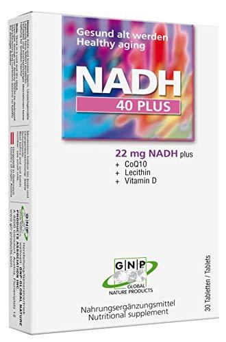 NADH 40plus - Lecithine + NADH + Coenzym Q10 +Vitamin D
