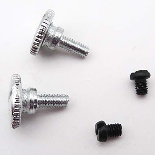 CKPSMS Brand - #KP-19057 - Juego de tornillos para agujas y pulgar, compatible con máquinas de coser industriales de una sola aguja